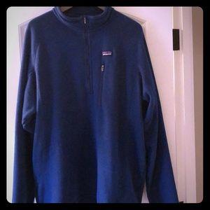 Men's Patagonia blue pullover